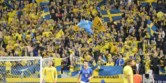 Friends Arena. Arkivbild. Anders Wiklund TT   TT NYHETSBYRÅN. Fotbolls-EM  2020 b5676b06b06e8
