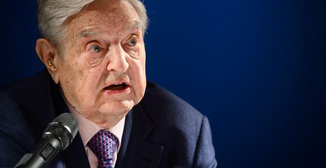 Soros.  FABRICE COFFRINI / AFP