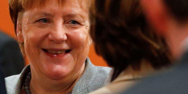 Angela Merkel, arkivbild. FABRIZIO BENSCH / TT NYHETSBYRÅN
