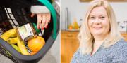 Anna Gullberg i Falun har startat en hjälpgrupp för de som påverkas av coronavirusutbrottet. TT och  Emelie Langer Strömberg
