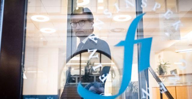 Generaldirektör Erik Thedéen. Magnus Hjalmarson Neideman/SvD/TT / TT NYHETSBYRÅN