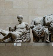 Parthenonskulpturerna på British Museum kallas även för Elgin Marbles Dylan Martinez / TT NYHETSBYRÅN
