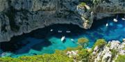 Les Calanques beskrivs som ett himmelrike på jorden. Franska turistbyrån