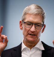 Tim Cook, vd för Apple. Arkivbild.  Brian Powers / TT / NTB Scanpix