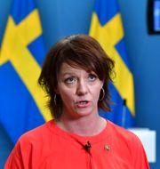 Matilda Ernkrans, minister för högre utbildning och forskning. Jonas Ekstromer / TT NYHETSBYRÅN
