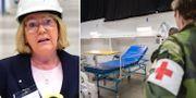 Irene Svenonius/fältsjukhuset i Älvsjö.