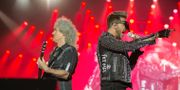 Queen + Adam Lambert på festivalen Sweden Rock 2016 i Norje. Erik Nylander/TT / TT NYHETSBYRÅN
