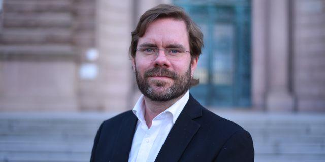 Jörgen Fogelklou (SD), Göteborg. Press, Sverigedemokraterna