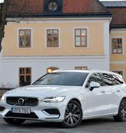Volvo V60. Anders Wiklund/TT / TT NYHETSBYRÅN