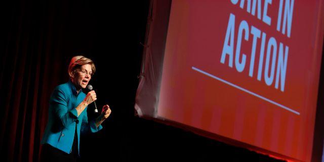 Elizabeth Warren. Matt York / TT NYHETSBYRÅN