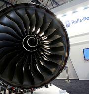 Arkiv, flygplansmotor från Rolls-Royce. FABRIZIO BENSCH / TT NYHETSBYRÅN