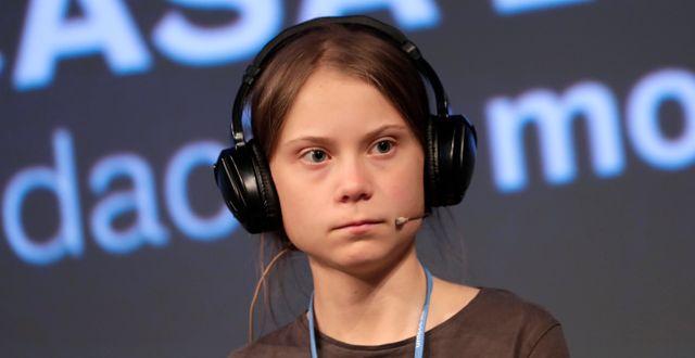 Greta Thunberg Bernat Armangue / TT NYHETSBYRÅN