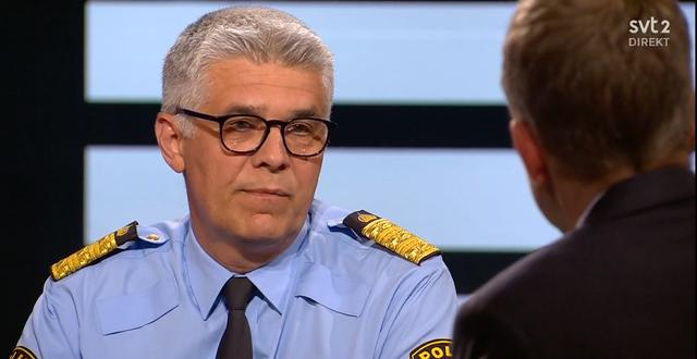 Rikspolischefen.  SVT