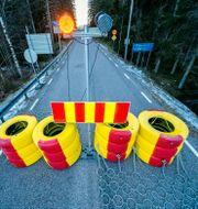 Gränsen mellan Norge och Sverige vid Halden. Torstein Bøe / TT NYHETSBYRÅN