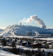 LKAB:s gruva i Kiruna. Bertil Ericson / TT / TT NYHETSBYRÅN