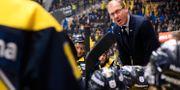 Johan Lindbom i HV71-båset. Arkivbild. CARL SANDIN / BILDBYR N