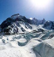 Bergstoppen Aiguille du Midi i Chamonix Lars Pehrson / SvD / TT / TT NYHETSBYRÅN