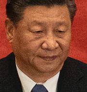 Xi Jinping / Xi på en partikongress i maj. TT