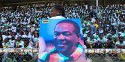 Emmerson Mnanagagwa på bild. Tsvangirayi Mukwazhi / TT / NTB Scanpix