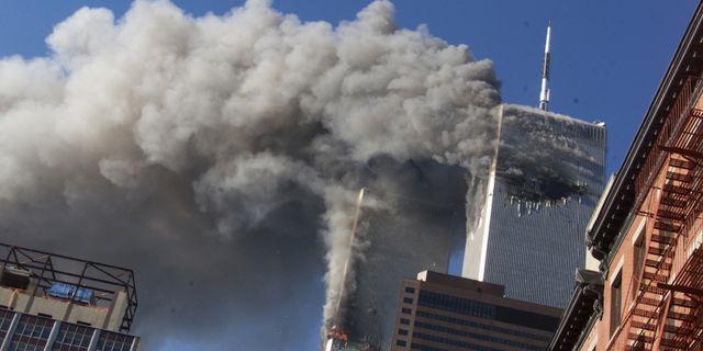 Bild från terrordådet 2001 TT