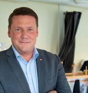 Kommunals ordförande Tobias Baudin Jessica Gow/TT / TT NYHETSBYRÅN