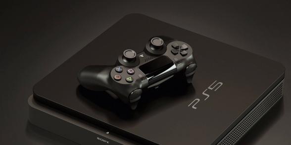 Fantasibaserad rendering av hur PS5 skulle kunna se ut.
