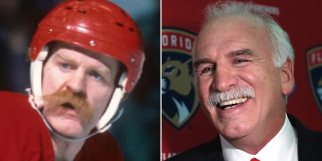 Lanny McDonald och Joel Quenneville. NHL/TT