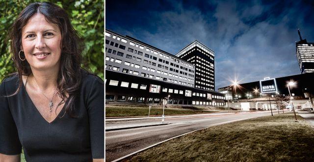 Vd Biljana Pehrsson.  TT och Kungsleden