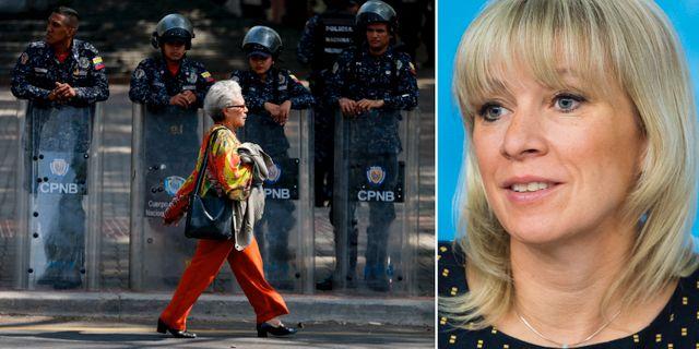 Krisen i Venezuela/Maria Zakharova. TT