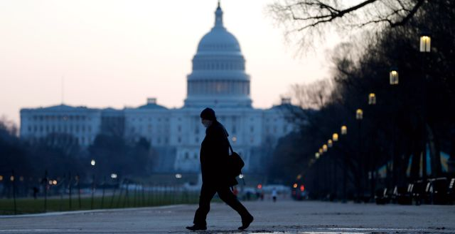 Arkivbild: Kapitolium i Washington. Julio Cortez / TT NYHETSBYRÅN