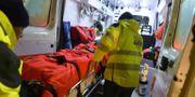 Räddningsarbetet pågår i Italien. Claudio Lattanzio / TT NYHETSBYRÅN