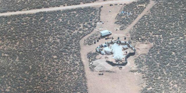 Området i New Mexico. Handout . / TT NYHETSBYRÅN