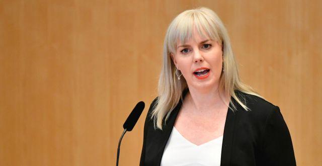 Linda Westerlund Snecker.  Henrik Montgomery/TT / TT NYHETSBYRÅN