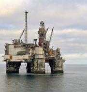 Oljeplattform i Heidrun-oljefältet. Wikimedia