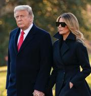 Donald och Melania Trump TT
