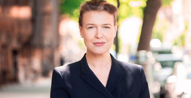 Carina Silberg, ansvarig för ägarstyrning och hållbarhet på Alecta. Evelina Carborn