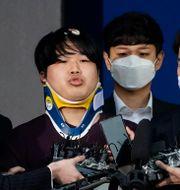 24-årige Cho Ju-bin i handklovar i mars.  Kim Hong-Ji / TT NYHETSBYRÅN