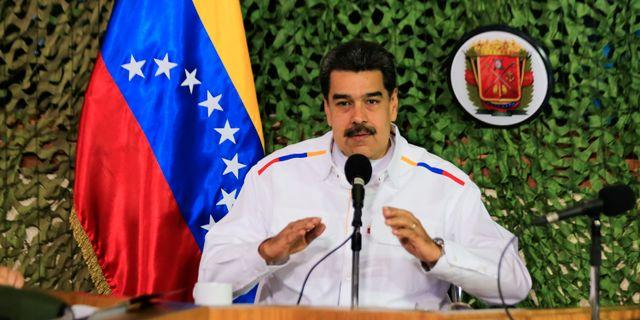Venezuelas president Nicolás Maduro. Arkivbild. HANDOUT / TT NYHETSBYRÅN