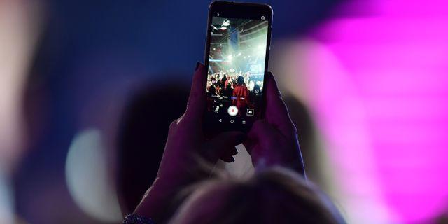 Bild från Idol-inspelning.  Stina Stjernkvist/TT / TT NYHETSBYRÅN