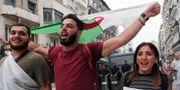 Många demonstrerade i våras för att bli av med mångårige ledaren Abdelaziz Bouteflika. Fateh Guidoum / TT NYHETSBYRÅN