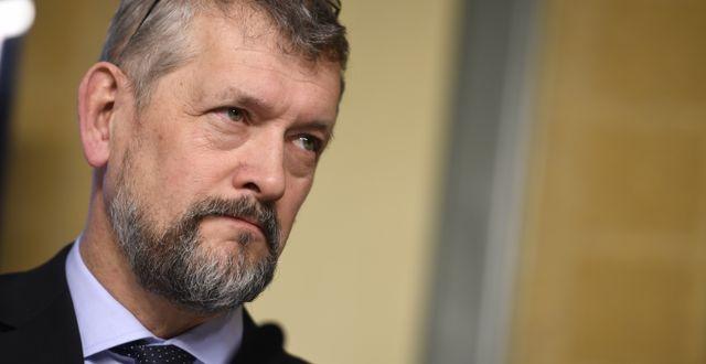 Nils Öberg, Försäkringskassans generaldirektör.  Pontus Lundahl/TT / TT NYHETSBYRÅN