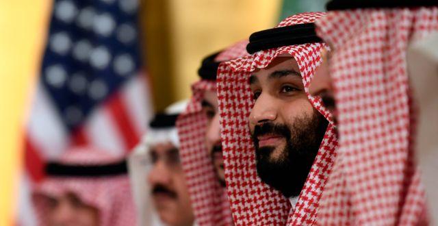 Arkivbild från 2019. Saudiarabiens kronprins Mohammed bin Salman.  Susan Walsh / TT NYHETSBYRÅN