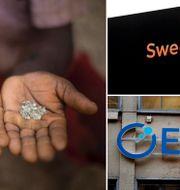 Diamanter, Swedbank, Elekta. Arkivbilder. TT