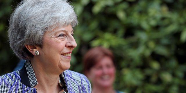 Theresa May. HANNAH MCKAY / TT NYHETSBYRÅN