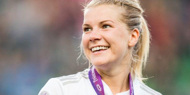 Ada Hegerberg. JON OLAV NESVOLD / BILDBYRÅN NORWAY