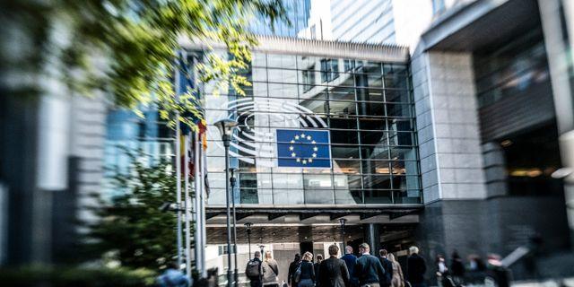 Illustrationsbild. EU-parlamentet.  Yvonne Åsell/SvD/TT / TT NYHETSBYRÅN