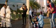 Familjeliv i Bruneis huvudstad Bandar Seri Begawan. TT
