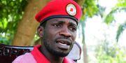 Bobi Wine. Ronald Kabuubi / TT NYHETSBYRÅN/ NTB Scanpix