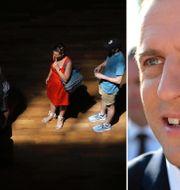 Emmanuel Macron. TT/AP