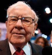 Warren Buffett. JOHANNES EISELE / TT NYHETSBYRÅN